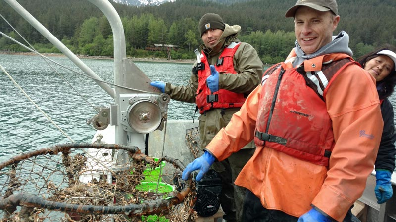 Gastineau Channel Lost Crab Pot Removal Project