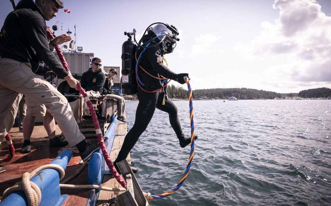 Army Deepwater Derelict Net Removal